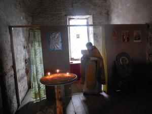 Первая после 1929 г. литургия 13.07.2015